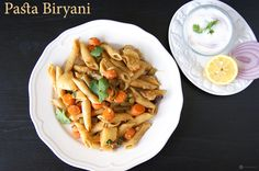 Vegetable Pasta Biryani is a very easy version of an Indian biryani made using pasta instead of rice. You can make one in 20 mins and just need one pot.