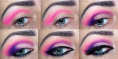 Summer Holiday Makeup Tutorial with Product List   Visit site for details  #GosiaMakeup  #bright #summer #neon #howto #makeup #tutorial #bblogger