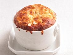 Grits, Cheese and Onion Souffle'          Grits, Cheese, and Onion Soufflés Recipe  | Epicurious.com