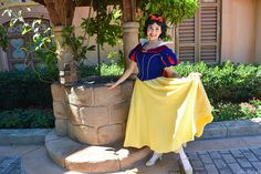 Snow White at the well