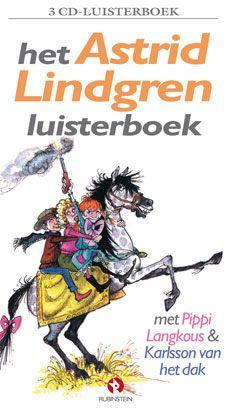 Het Astrid Lindgren Luisterboek, oa met Pipi Langkous. Voorgelezen door Martine Bijl.  Download de gratis app en laat de kinderen genieten van het verhaal, achter in de auto of 's avonds voor het slapen gaan. Ook altijd leuk om zelf nog eens te luisteren!