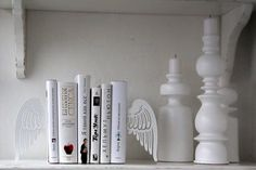 'wing' bookends!! love them!