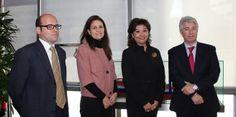 El Puerto de Barcelona prepara su misión a México  Ramon Rull, jefe de Desarrollo de la Marca de Calidad del Puerto de Barcelona; Sylvia Pederzini, del Área de Promoción Comercial del Consula...