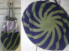 Tapestry Crochet Market Bag...some amazing examples of Tapestry Crochet here!