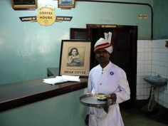 I miss the old Indian Coffee House on M.G. Road, Bangalore.