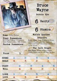 The Ebonrook Files: Bruce Wayne, Private Eye (Arkham Horror)