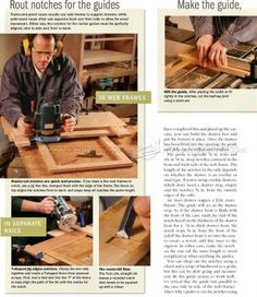 #2226 Making Drawer Center Guide - Drawer Construction