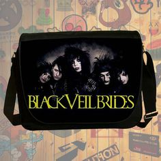NEW HOT!!! Black Veil Brides Messenger Bag, Laptop Bag, School Bag, Sling Bag for Gifts & Fans #01