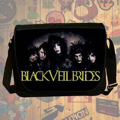 NEW HOT!!! Black Veil Brides Messenger Bag, Laptop Bag, School Bag, Sling Bag for Gifts & Fans #01