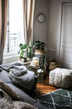 My living room / Marie and Mood / Cosy Home / décoration / inspiration bohème