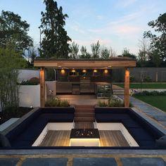 35 Ideas For Sunken Garden Seating Backyard Fire Pits