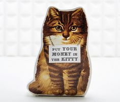 Put money in the kitty #catarama #catlovers #forcrazycatladies