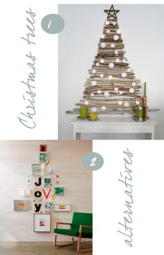 Not as an alternative to my christmas tree, but maybe as an alternative way to display the christmas cards we get!