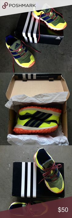 Adidas Slingshot TR Running Shoes Worn a few times. Comfy. In great condition as shown in photos. Fun Bright Colors. Will come in original box. adidas Shoes Sneakers