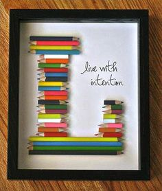 DIY! With every word and line you want.. Great gift idea too.