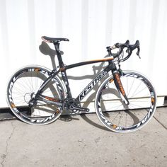Kestrel RT-1000 SL w/Super Record Complete Road Bicycle Carbon/White/Orange 2012