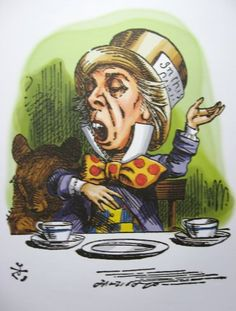 Alice in Wonderland large colour art prints posters and small art cards of drawings by artist Sir John Tenniel Alice In Wonderland Figurines, Alice In Wonderland Artwork, Alice In Wonderland Illustrations, Alice And Wonderland Quotes, Alice In Wonderland Party, Adventures In Wonderland, Book Illustrations, John Tenniel, Mad Hatter Original