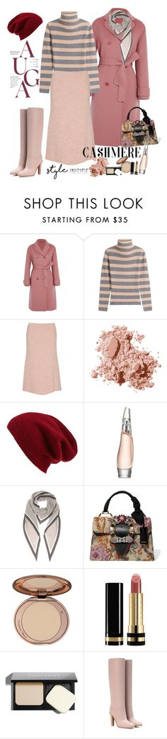 """Cashmere Style"" by ellie366 ❤ liked on Polyvore featuring Bottega Veneta, 81hours, ORLEY, Bobbi Brown Cosmetics, Halogen, Donna Karan, Loro Piana, Miu Miu, Gucci and Valentino"