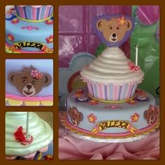 Build A Bear Cake. I tried this one it was awesome