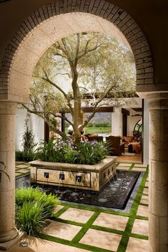 A Spanish Revival/ Spanish Colonial - Mediterranean - Patio - orange county - by South Coast Architects, Inc. Spanish Style Homes, Spanish House, Spanish Colonial Kitchen, Spanish Revival Home, Spanish Design, Outdoor Rooms, Outdoor Living, Outdoor Patios, Outdoor Kitchens