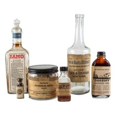 Vintage Apothecary Bottles - $120.