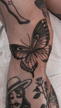 Monarch Butterfly Tattoo, Butterfly Tattoo Meaning, Butterfly Tattoos For Women, Dragonfly Tattoo, Mariposa Butterfly, Blue Butterfly, 4 Tattoo, Bad Tattoos, Small Tattoos