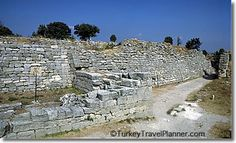 For most of the last 3000 years, people assumed that Homer's Iliad was fiction, and that Troy (Truva in Turkish) never existed. Then, in 1863, a British expatriate named Frank Calvert discovered ancient ruins and was convinced they were Troy. #Travel