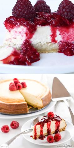 Low Carb Cheesecake Recipe - Sugar-Free Keto Cheesecake - A gluten-free, low carb cheesecake recipe that's EASY to make with only 8 ingredients and 10 minutes prep time. This sugar-free keto cheesecake tastes just like the real thing - delicious! Sugar Free Desserts, Sugar Free Recipes, Low Carb Desserts, Diabetic Desserts Sugar Free Low Carb, Heart Healthy Desserts, Healthy Low Carb Recipes, Keto Recipes, Dessert Recipes, Jelly Recipes