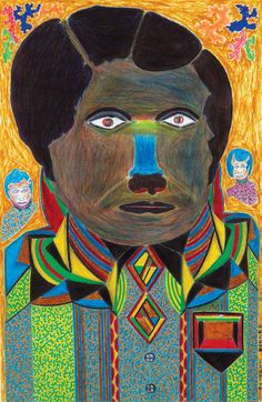 The colourful mannequins and trucks of Liberian Johnson Weree, featured in the new issue. http://rawvision.com/articles/johnson-weree