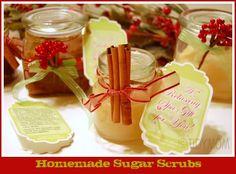 Easy Homemade Sugar Scrub recipes via @TidyMom