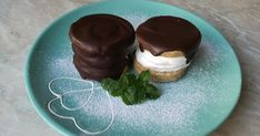 IR/Szolnoki habos ischler Dessert Recipes, Pudding, Food, Snacks, Appetizers, Custard Pudding, Essen, Puddings, Meals