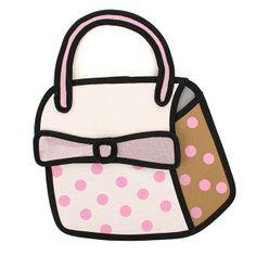 Sweet Girls 3D Bowtie Cartoon Bag Handbag