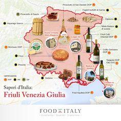 Benvenuti in Friuli Venezia Giulia, terra di confine e di rinomate eccellenze gastronomiche.