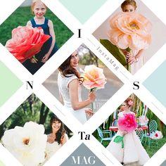 #シェアInstagram ○ これ可愛いー♡ ジャイアントペーパーフラワー! お色直ししてからのブーケこのでっかいのにしよかな♡ とりあえず作ってみよー♡ 画像お借りしました。 #ブーケ #ペーパーフラワー #ジャイアントペーパーフラワー #プレ花嫁 #結婚式準備 #あむちゅん #結婚式