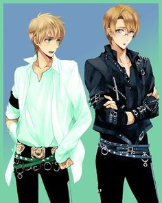 America and England in Micheal Jackson outfits! - Hetalia