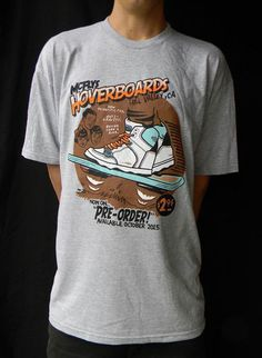 the hoverboard shirt