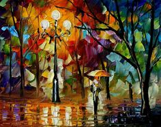 Love this painting and the use of colors