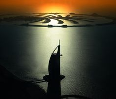 Burj Al Arab Hotel and Palm Island Dubai