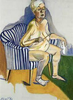 Alice Neel (self portrait)  Art Experience NYC  www.artexperiencenyc.com