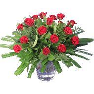 Rouwboeket rode rozen  Vanaf: €19,95