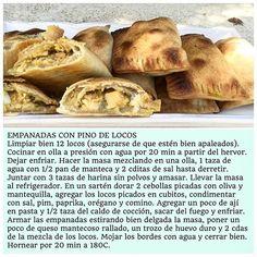 EMPANADAS CON PINO DE LOCOS