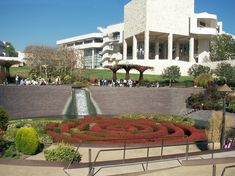 Getty Museum, Los Angeles  Had a great day there and lunch!