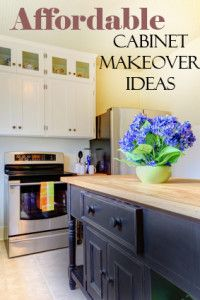 Affordable Cabinet Makeover Ideas