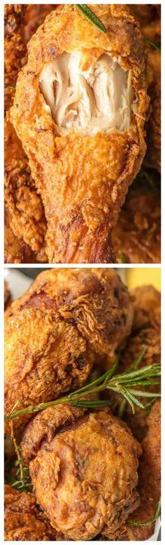 Buttermilk Fried Chicken ~ The best buttermilk chicken you will ever sink your teeth into.