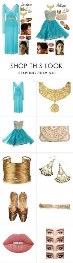 """""""Descendants - Jasmine & Aladdin's daughters - Aaliyah & Jemima"""" by ajenk200 ❤ liked on Polyvore featuring Eina Ahluwalia, BUBA, Monsoon, Chanel and Lime Crime"""