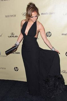 Jennifer Lopez at the Golden Globes 2013 After Party