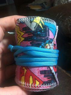 Crossfit style wrist wraps Wonder Woman  on Etsy, $23.00