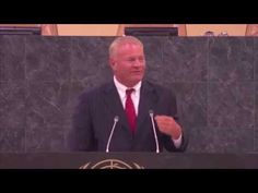 """Jeff Olson Addresses the UN on Happiness  #Nerium International Founder and CEO...  Would you not want to be lead and taught by this great man! """"HAPPINESS IS THE PRECURSOR TO SUCCESS.""""  Go to my website to check out the company I am proud to belong to that he has founded.  cecilynestorel.neriumproducts.com You will be blown away by the before and after pictures posted.  Know that our products have the #REAL #PATENT and not just any reqular patent.  Nobody in this world can copy it."""