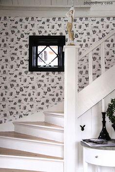 Fönster i trappen