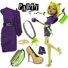 Clawdeen Wolf - Monster High grown-up outfit.My daughter would love to see me in this! Monster High Clothes, Brooklyn Style, Monster High Party, Other Outfits, Cosplay Outfits, Inspired Outfits, Fashion Books, Disney Style, Party Wear